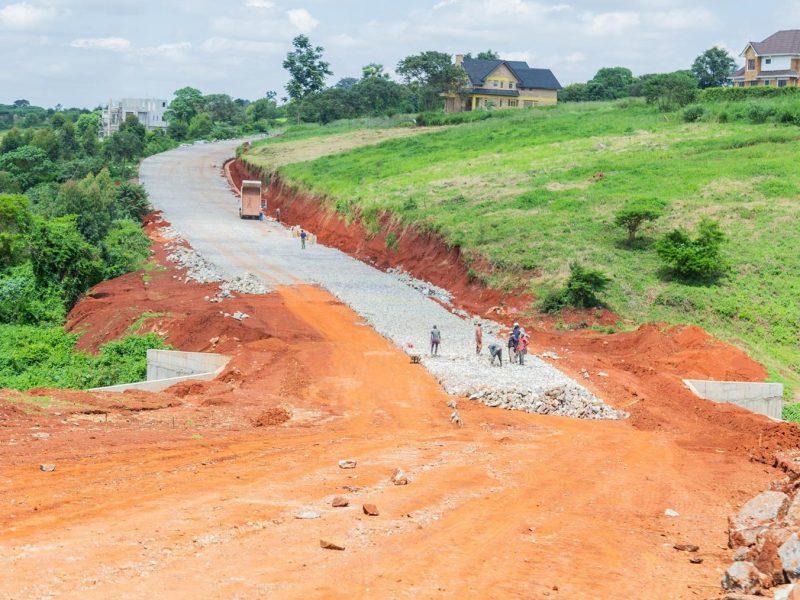 Migaa Golf Estate Infrastructure Updates - Road Construction Spine Road 2