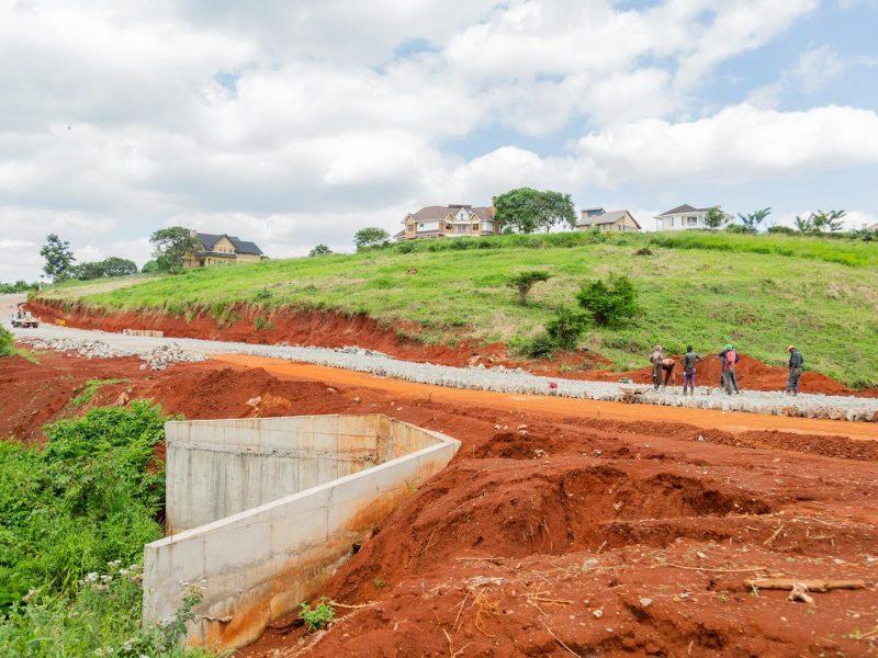 Migaa Golf Estate Infrastructure Updates - Road Construction Spine Road 4