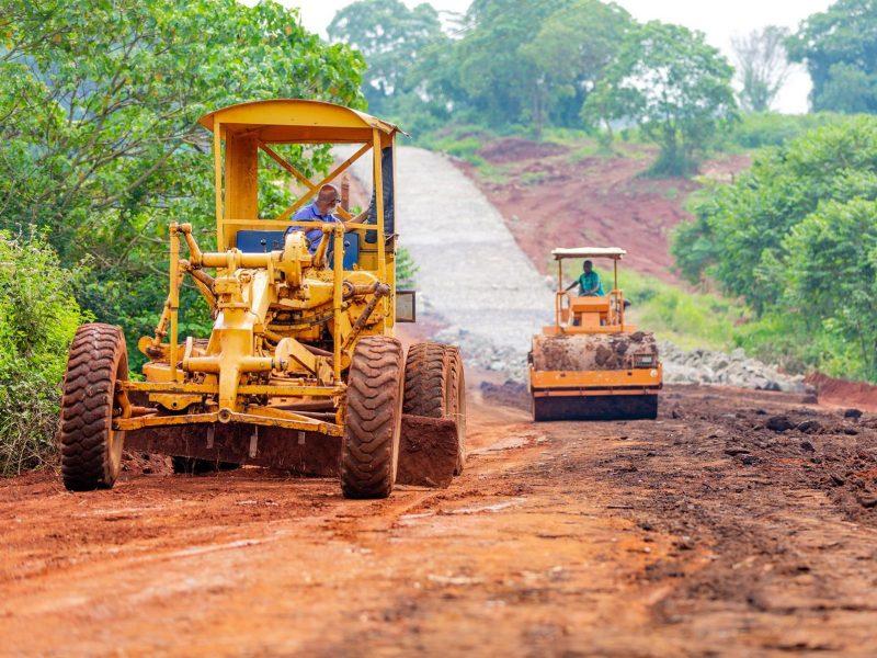 Migaa Golf Estate Infrastructure Updates - Road Construction Spine Road 8