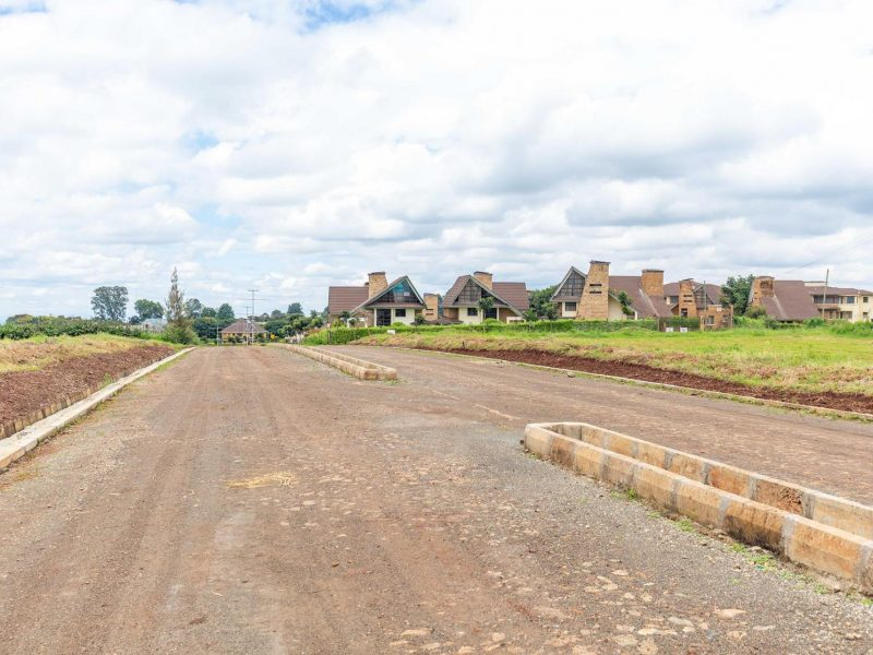 Migaa Golf Estate Infrastructure Updates - Road Construction Spine Road