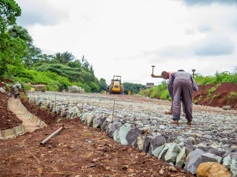 Road Works at Migaa Golf Estate