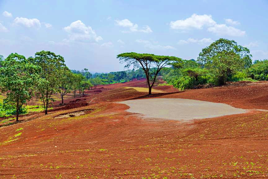 Migaa Infrastructure Updates April 2021 - Golf Course Construction