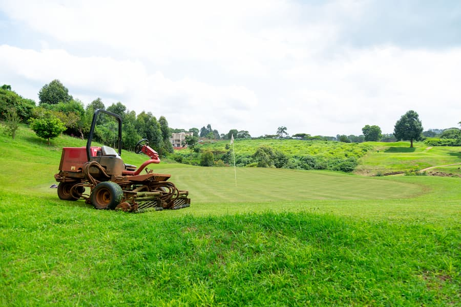 Migaa Golf Course Construction - May 2021